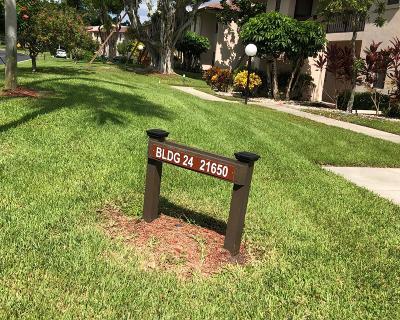 Boca Raton Condo For Sale: 21650 Juego Circle #24 I