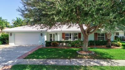 Boca Raton Single Family Home For Sale: 1620 SW 7th Terrace