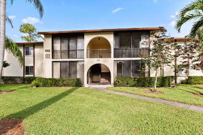 Greenacres Condo For Sale: 5991 Pine Cone Court #D-1