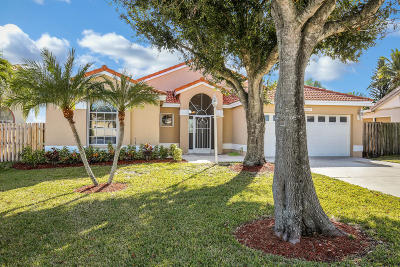 West Palm Beach Single Family Home For Sale: 4460 Camrose Lane