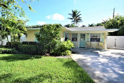 Delray Beach Single Family Home For Sale: 602 Allen Avenue