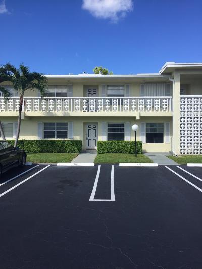 Delray Beach Condo For Sale: 1121 Cactus Terrace #103