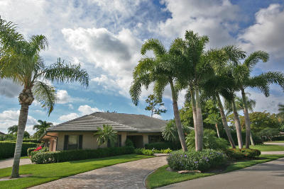 Boynton Beach Single Family Home For Sale: 1344 Partridge Place