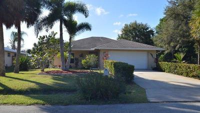 Vero Beach Single Family Home Contingent: 2185 80th Avenue