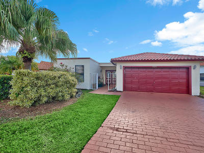 Lake Worth Single Family Home For Sale: 5427 Alta Way
