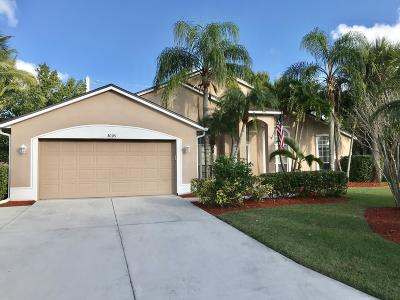 Palm City Single Family Home For Sale: 3009 SW Captiva Court