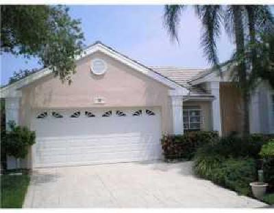 Palm Beach Gardens Single Family Home Contingent: 60 Admirals Court