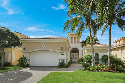 Palm Beach Gardens FL Single Family Home For Sale: $1,175,000