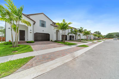 Greenacres Townhouse For Sale: 3199 Santa Catalina Place