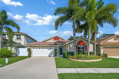 Boynton Beach Single Family Home For Sale: 7826 Manor Forest Boulevard