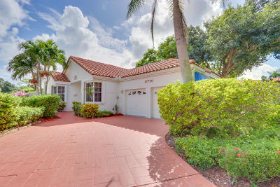 Boca Raton Single Family Home For Sale: 17776 Candlewood Terrace