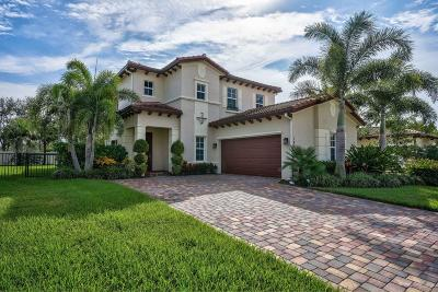 Jupiter Single Family Home For Sale: 147 Rudder Cay Way