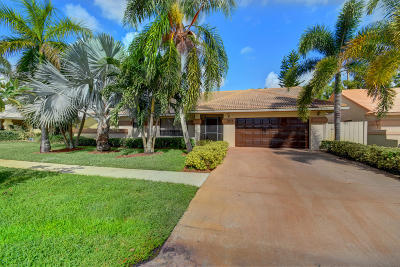 Boynton Beach Single Family Home For Sale: 9315 Laurel Green Drive