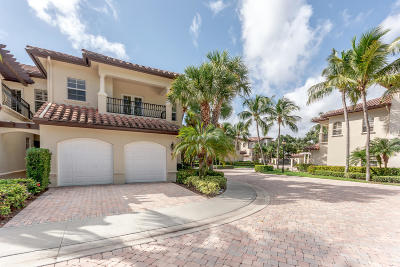 Palm Beach Gardens Townhouse For Sale: 64 Marina Gardens Drive #64