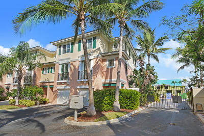 Delray Beach Townhouse For Sale: 350 NE 3rd Street #3-A
