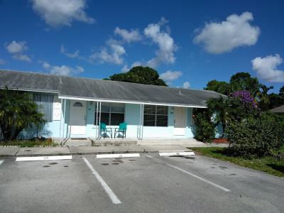 West Palm Beach Single Family Home For Sale: 909 Sumter Road W