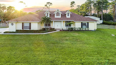 Loxahatchee Single Family Home For Sale: 7955 Grapeview Boulevard