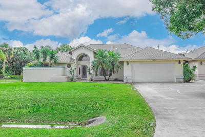 Fort Pierce Single Family Home For Sale: 6905 Cabana Lane