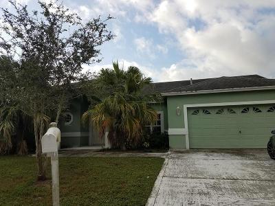 Greenacres FL Single Family Home For Sale: $299,500