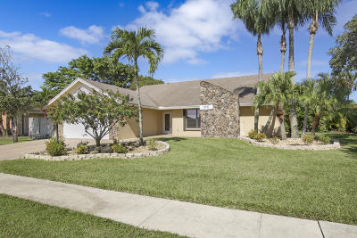 Lake Worth Single Family Home For Sale: 8387 Myakka Court