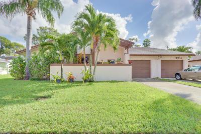 Greenacres Single Family Home For Sale: 6145 Elsinore Circle
