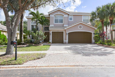 Boca Raton Single Family Home For Sale: 19263 Skyridge Circle