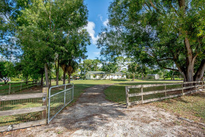 West Palm Beach Single Family Home For Sale: 11821 62nd Ln. N. Lane