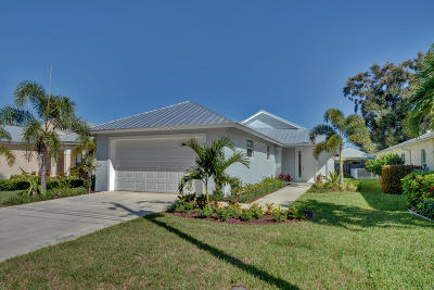 Jupiter Single Family Home For Sale: 17680 Cinquez Park Road E