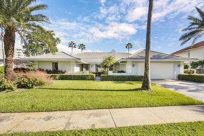 Jupiter Single Family Home For Sale: 140 Rotunda Drive