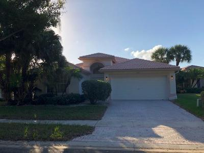 Boynton Beach Single Family Home For Sale: 11291 Deleon Circle