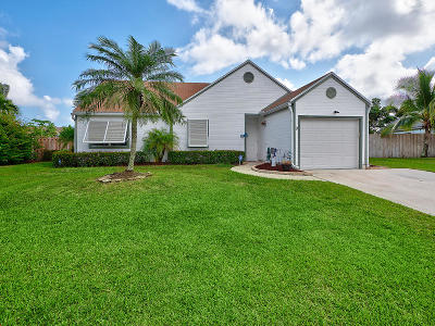 Boynton Beach Single Family Home For Sale: 9 Cedar Circle
