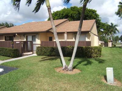 Greenacres Single Family Home For Sale: 803 Sky Pine Way #H