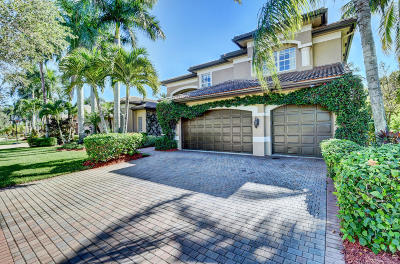Delray Beach Single Family Home For Sale: 9668 Savona Winds Drive