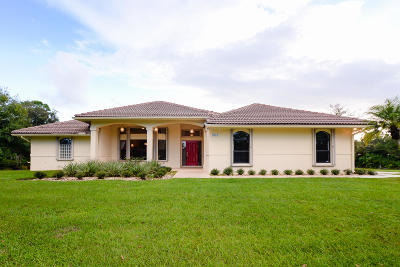 Port Saint Lucie Single Family Home For Sale: 7813 Saddlebrook Drive
