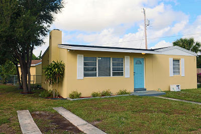 West Palm Beach Single Family Home For Sale: 407 Cherry Road