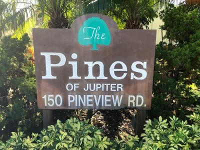 Jupiter Condo For Sale: 150 Pineview Road #C6