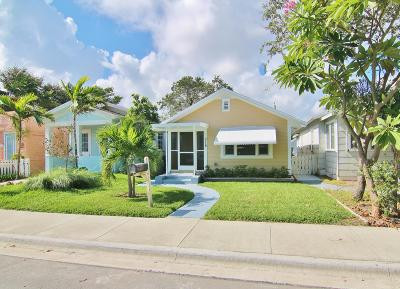 Lake Worth Single Family Home For Sale: 315 M Street