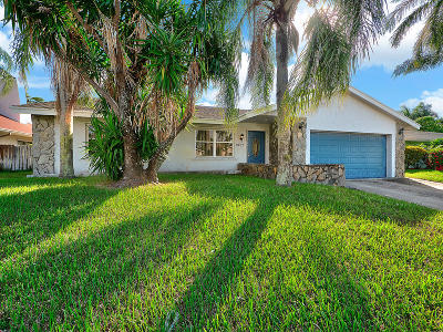 West Palm Beach Single Family Home For Sale: 2707 Starwood Circle