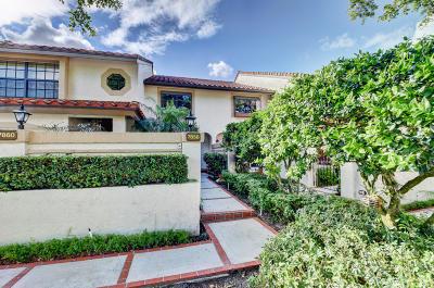 Boca Raton Condo For Sale: 7858 La Mirada Drive