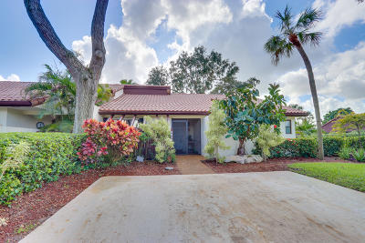 Boca Raton Single Family Home Contingent: 6870 Tiburon Drive