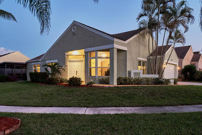 Boca Raton Single Family Home For Sale: 23020 Sunfield Drive