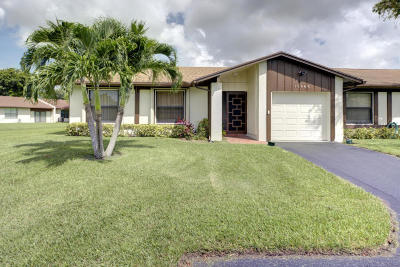 Delray Beach Single Family Home For Sale: 15968 Forsythia Circle