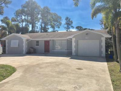 Lake Worth Single Family Home For Sale: 7586 Seabreeze Drive