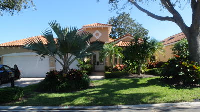 Jupiter Single Family Home Contingent: 3860 Outlook Court