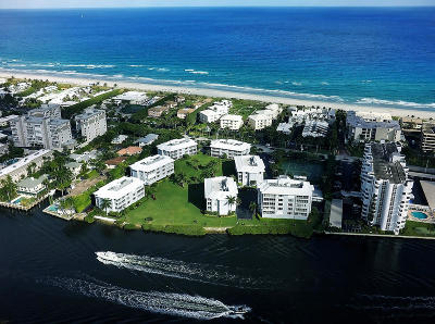 Delray Beach Condo For Sale: 2150 S Ocean Boulevard #5d