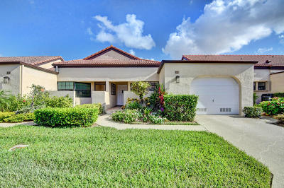 Boynton Beach Single Family Home For Sale: 8188 Waterline Drive