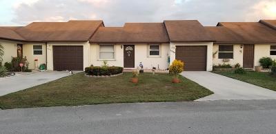 Lake Worth Single Family Home Contingent: 5648 Waltham Way