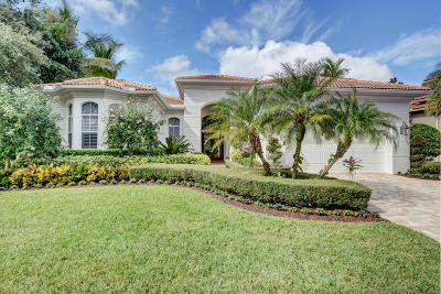 Palm Beach Gardens FL Single Family Home For Sale: $1,149,000