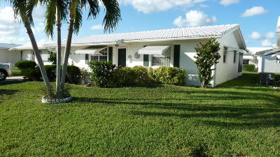Boynton Beach Single Family Home For Sale: 1903 SW 13th Avenue