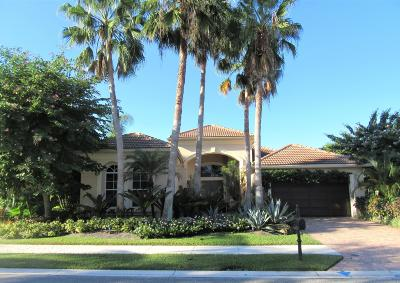 Palm Beach Gardens Single Family Home Contingent: 102 Coconut Key Court